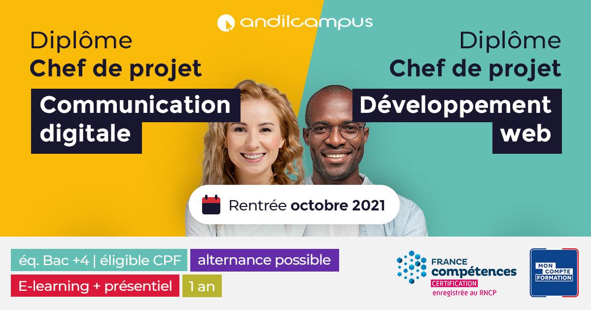 Diplôme Chef de projet Communication et Développement